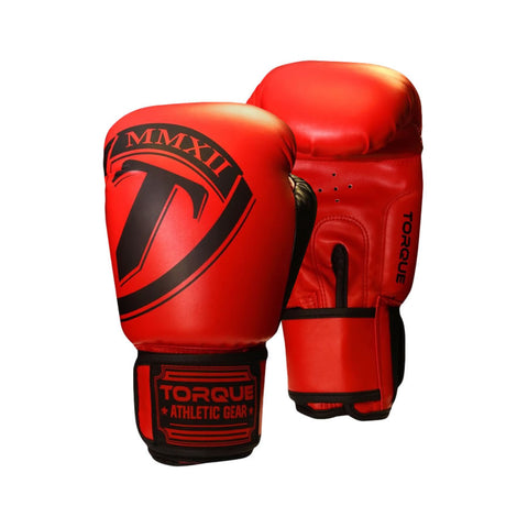 Torque Fulcrum Boxing Gloves Red16oz - MrMMA - 1