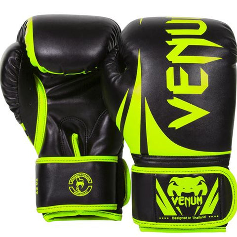 Venum Challenger 2.0 Boxing Gloves Yellow 16oz