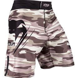 Venum Wave Camo Fight Shorts Brown