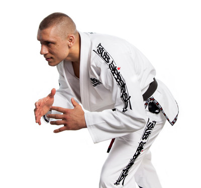White 350 Ultralight Gi - With Gi Bag