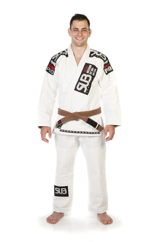 White SUB Pro Gi - With Gi Bag