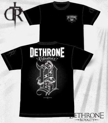 Dethrone Royalty Cain Velasquez Snake Signature T-Shirt -