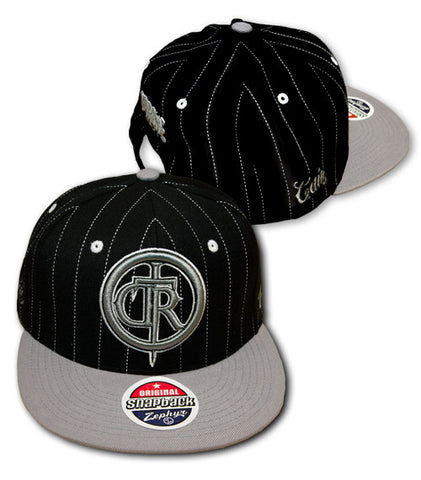 Dethrone Royalty Cain Velasquez Pin Stripe Hat -