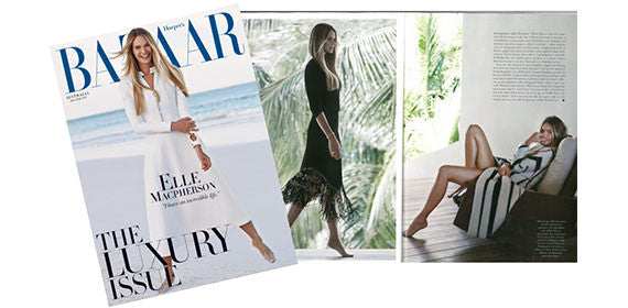 IT'S OFFICIAL; THESE ARE OUR FAVOURITE SHOTS FROM ELLE'S HARPER'S BAZAAR SPREAD