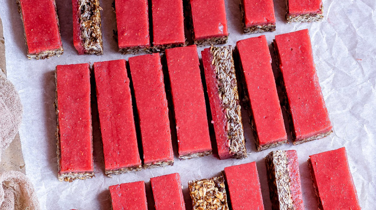Superfood Chocolate Jelly Bars