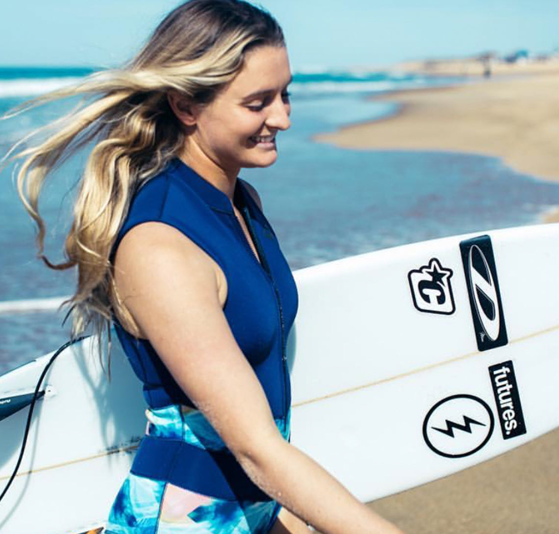 Pro surfer Bronte Macaulay on how she stays fit & health