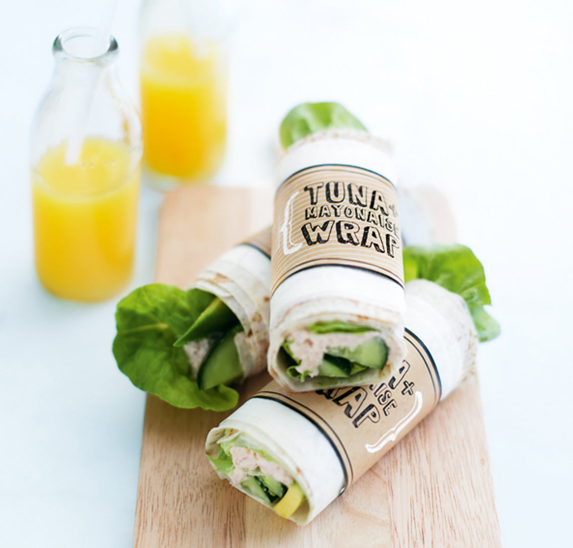 Kids Lunch Box - Tuna Wraps