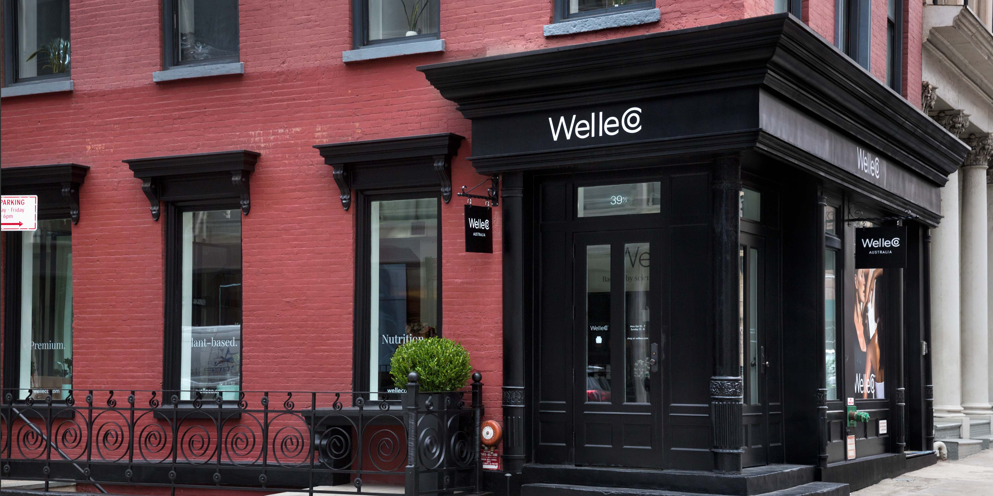 WelleCo NEW YORK CITY store