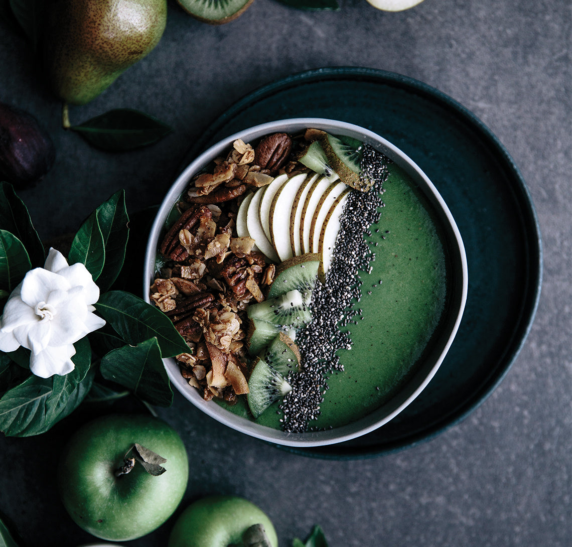 Super Green Saturday Smoothie Bowl