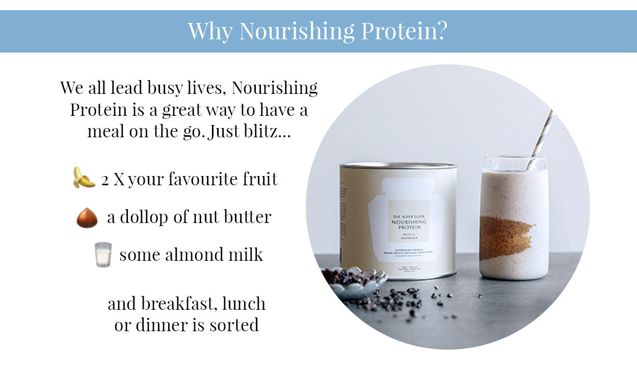 Why Nourishing Protein