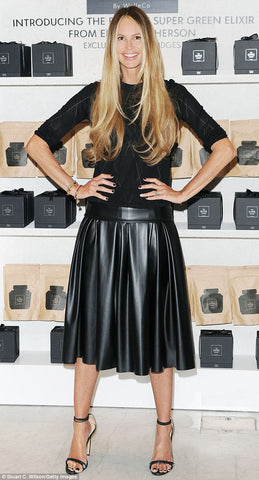 Elle Macperson Selfridges THE SUPER ELIXIR WelleCo launch