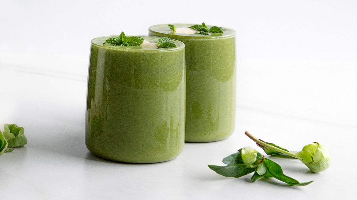 Green Smoothie to recover and reboot