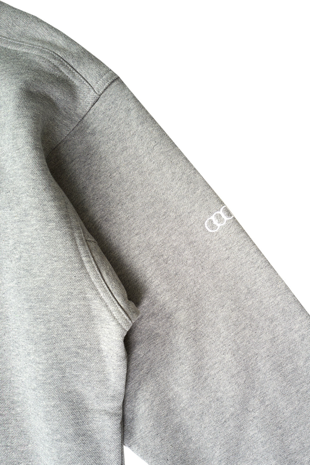 New Logo Rugby Sweatshirt - Grey