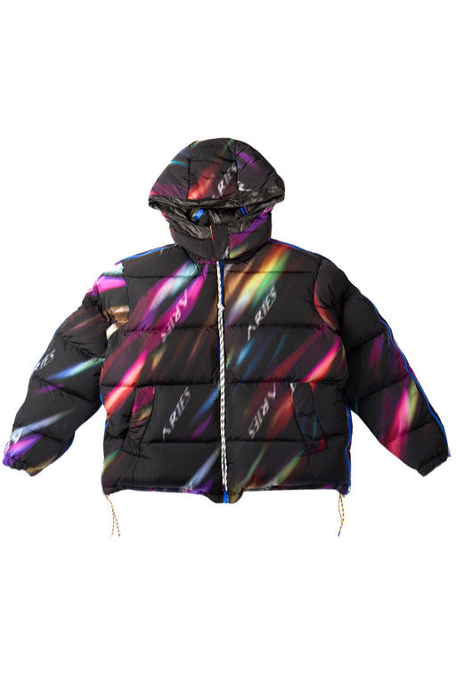 Aurora Zip Puffa Jacket - Multi