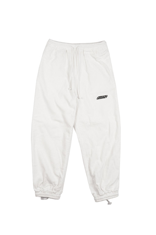 Corduroy Lounge Pants - White