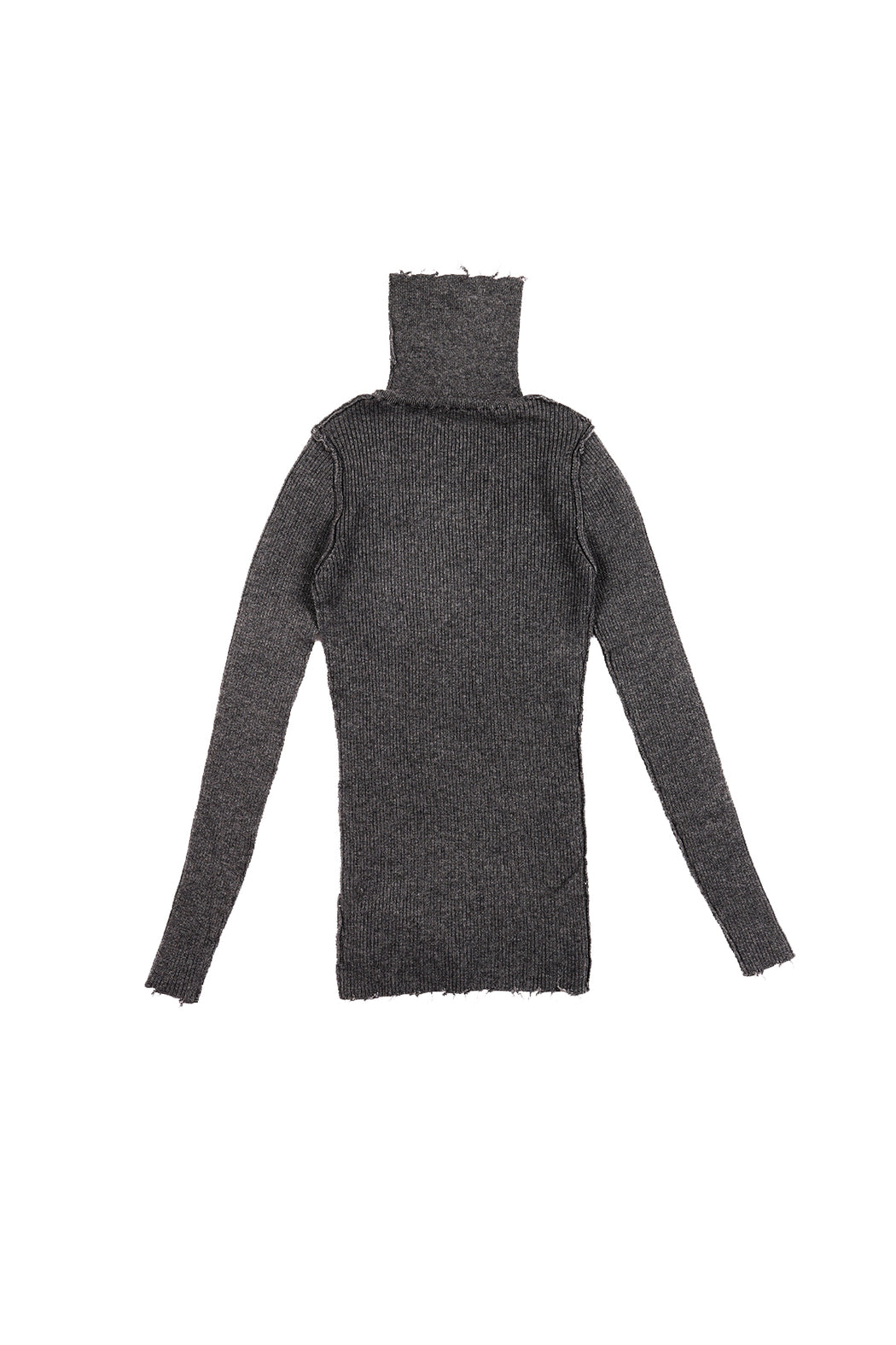 Fit Rib Turtle Knit - Black