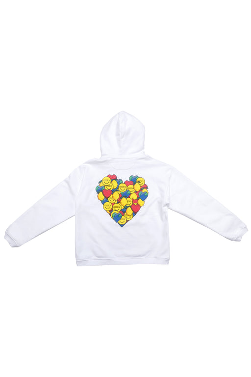 Oversized Heart Graphic Hoodie