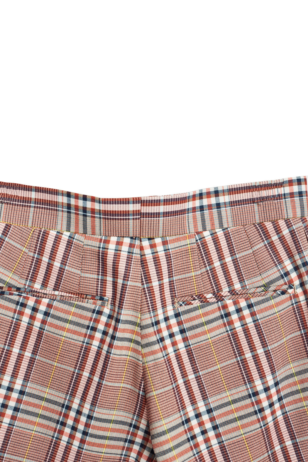 Front Pleated Shorts - Tatan Check Beige