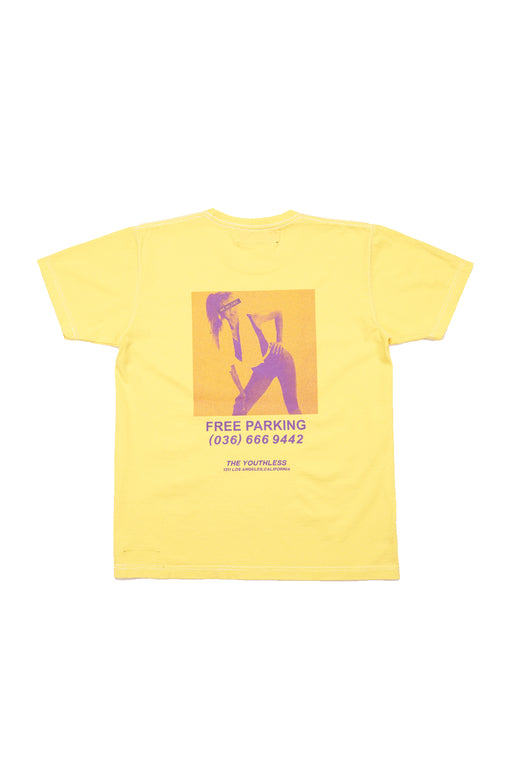 Free Parking S/S Tee - Yellow