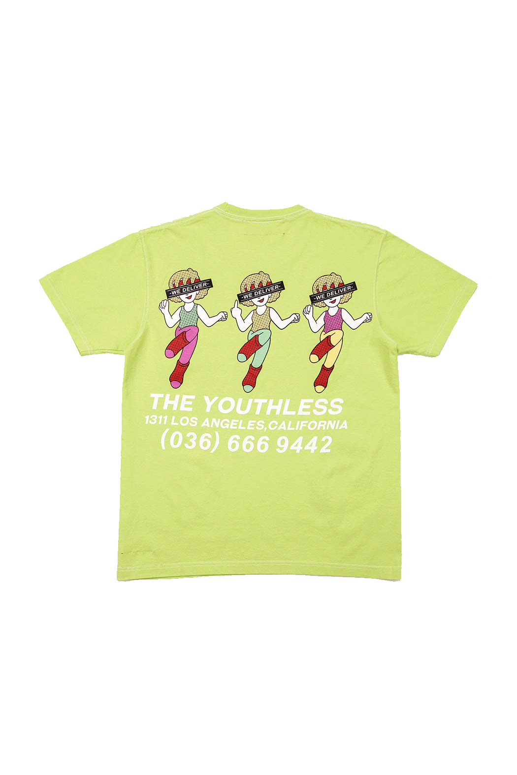 Aerobics S/S Tee - Light Green