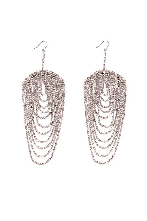 Draped Chandelier Earrings