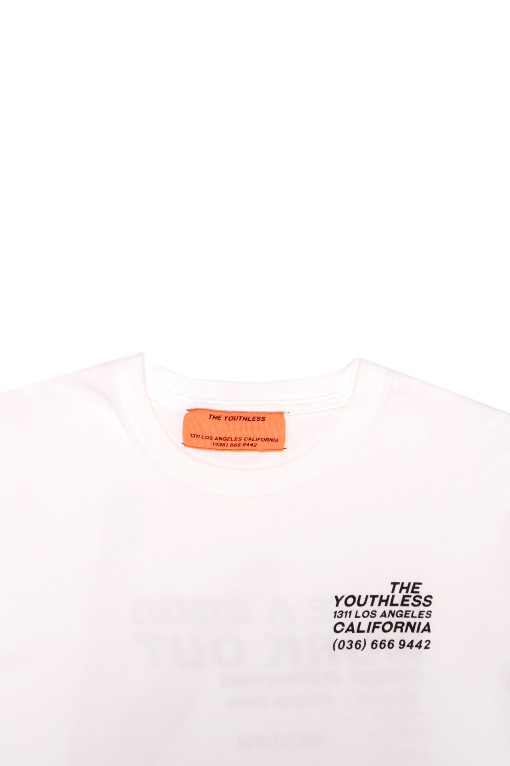 Peace Sign L/S Tee - White