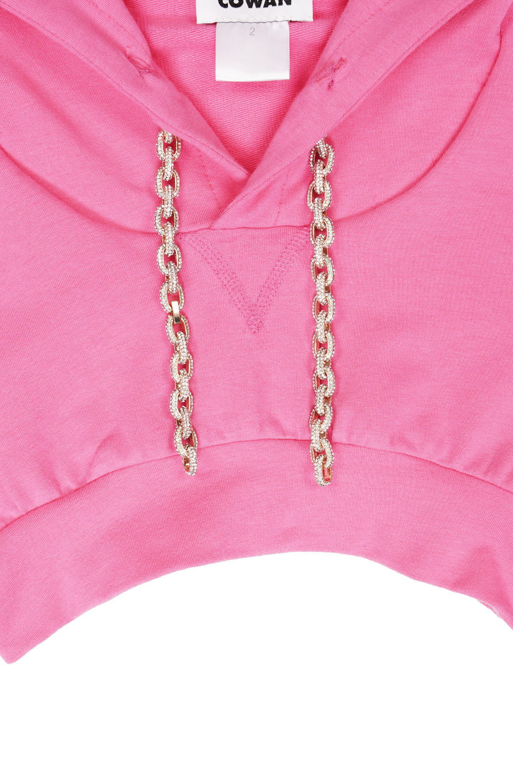 Cropped Sweatshirt - Pink