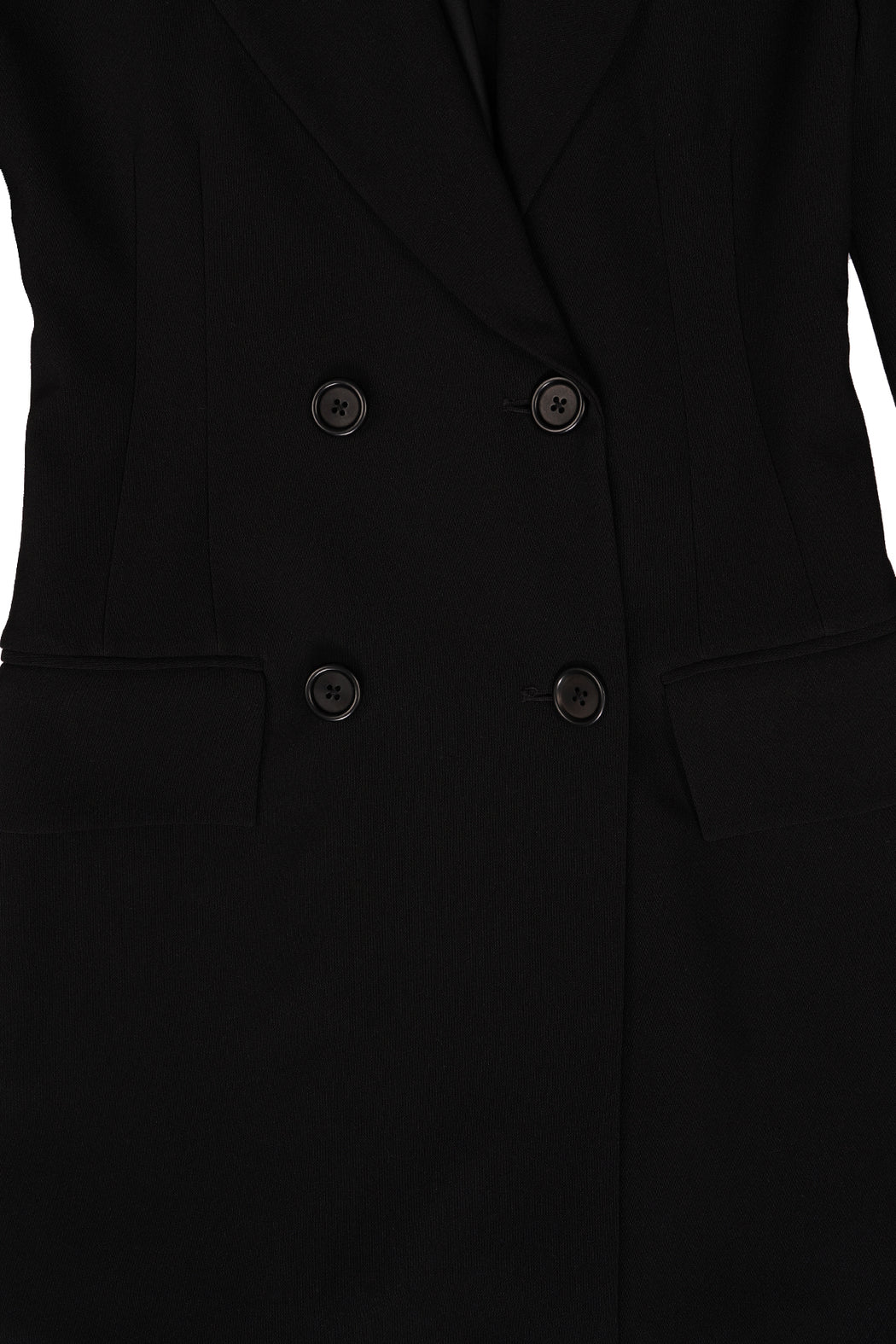Blazer Dress - Black