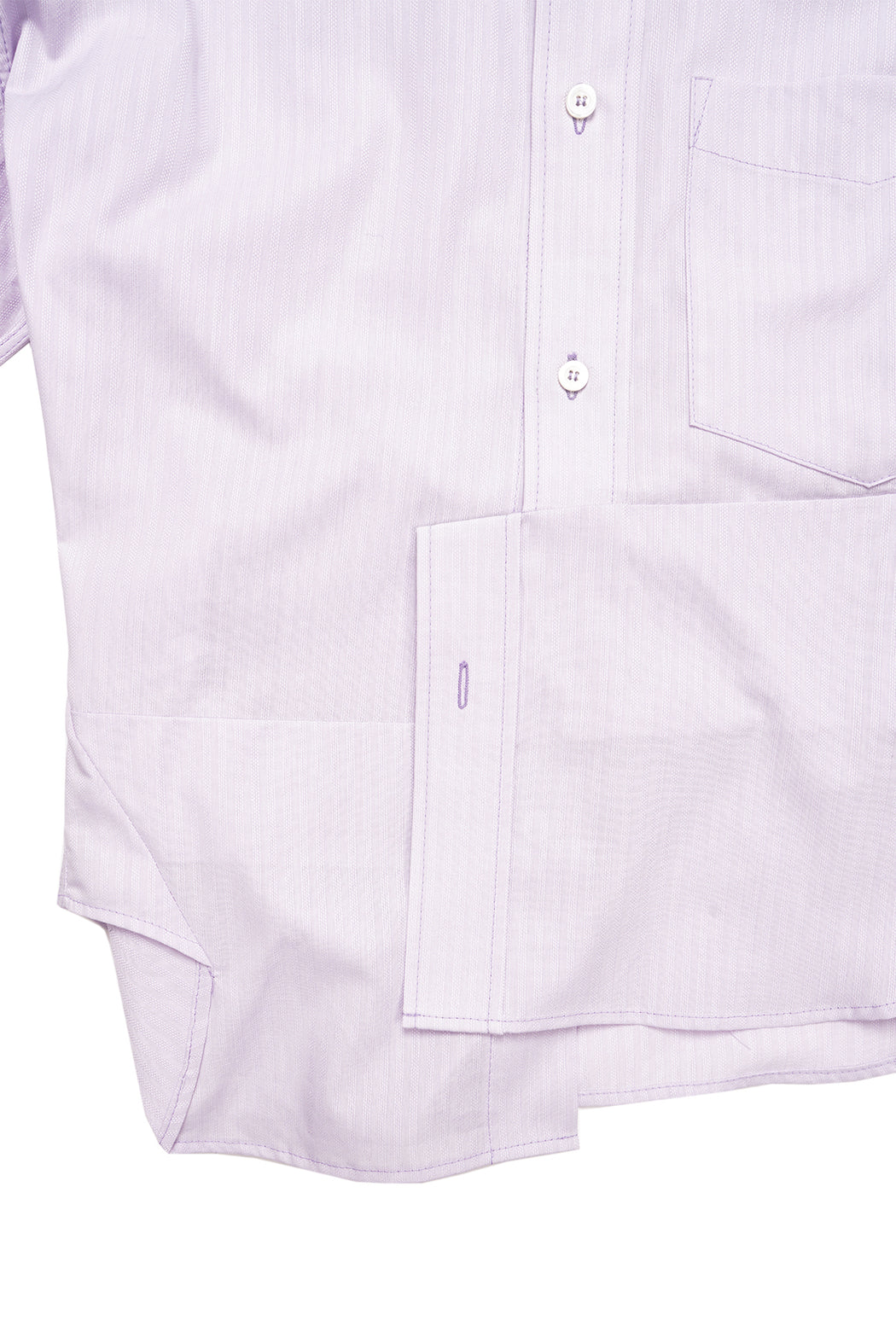 Messed Up Classic Short Sleeve Shirt - Light Purple