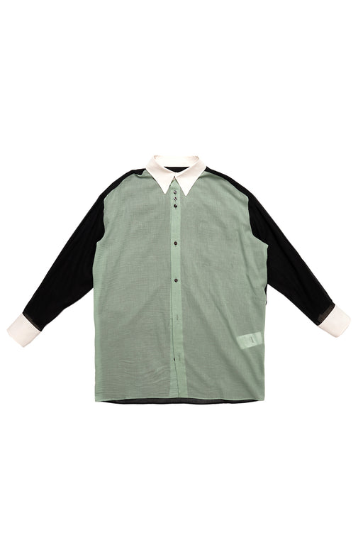 Sheer Party Shirt - Mint