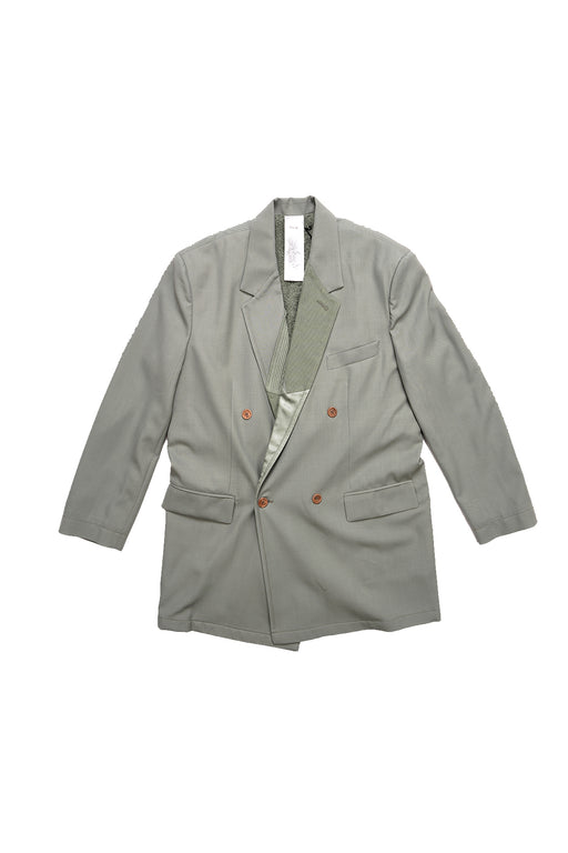 Full Moon Party Smoking Double Jacket - Sage