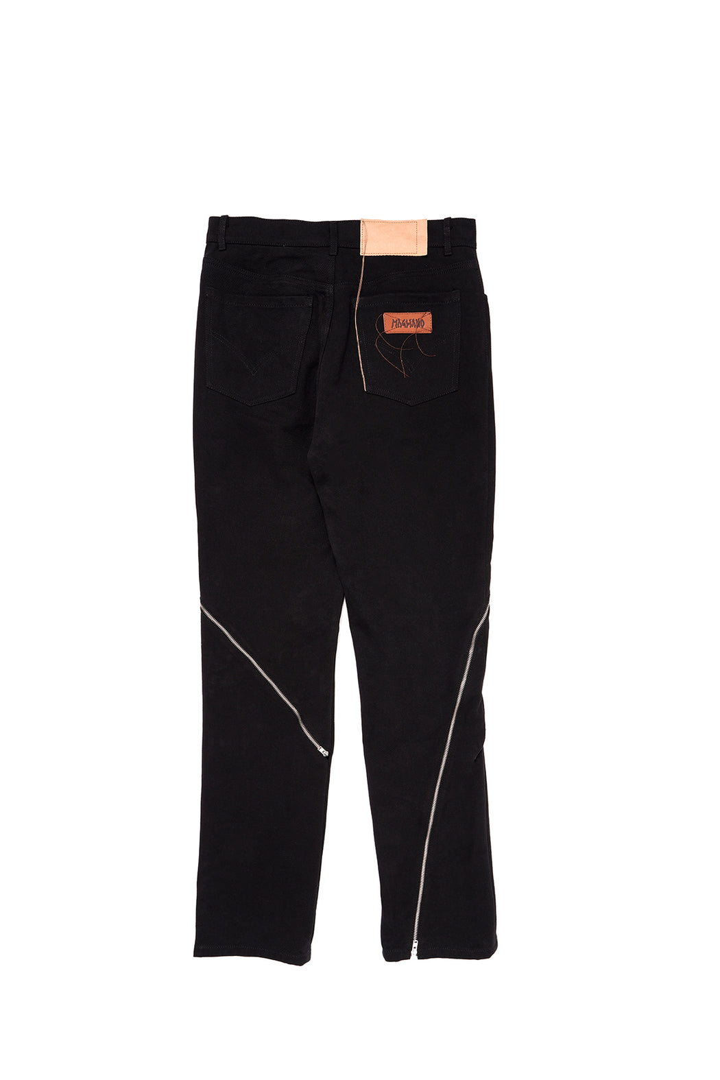 Zipped Pants - Black