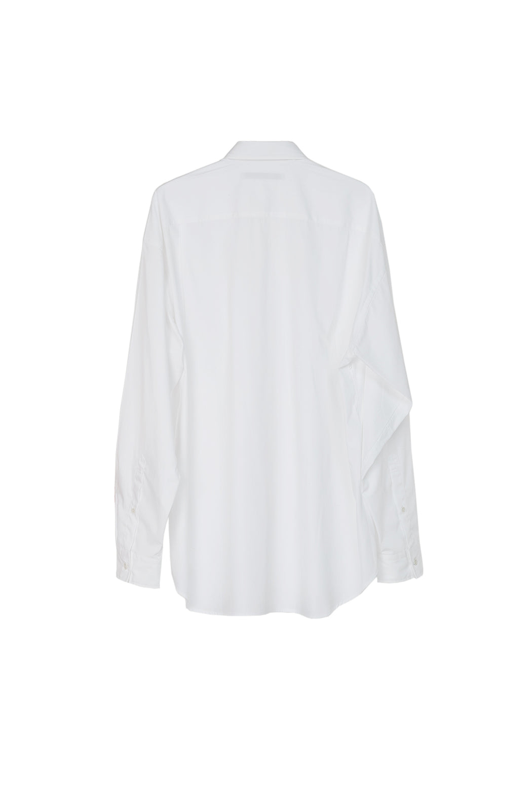 Roll Up Sleeve Shirt - White