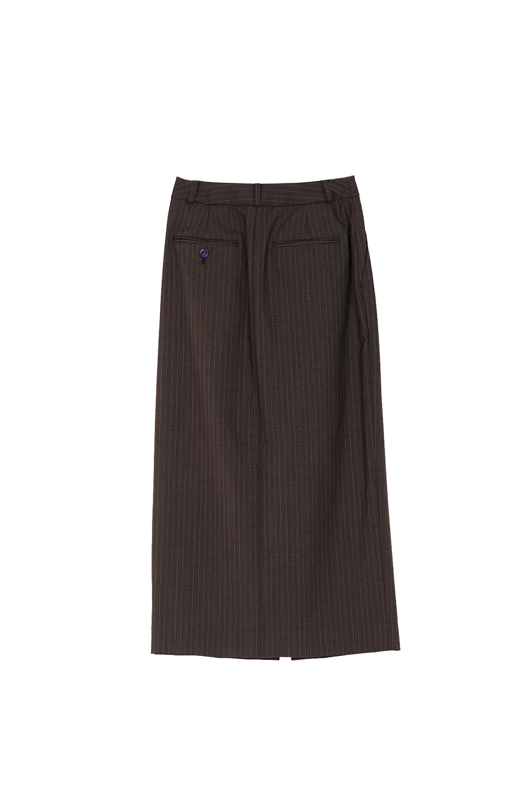 Tailored Skirt - Brown