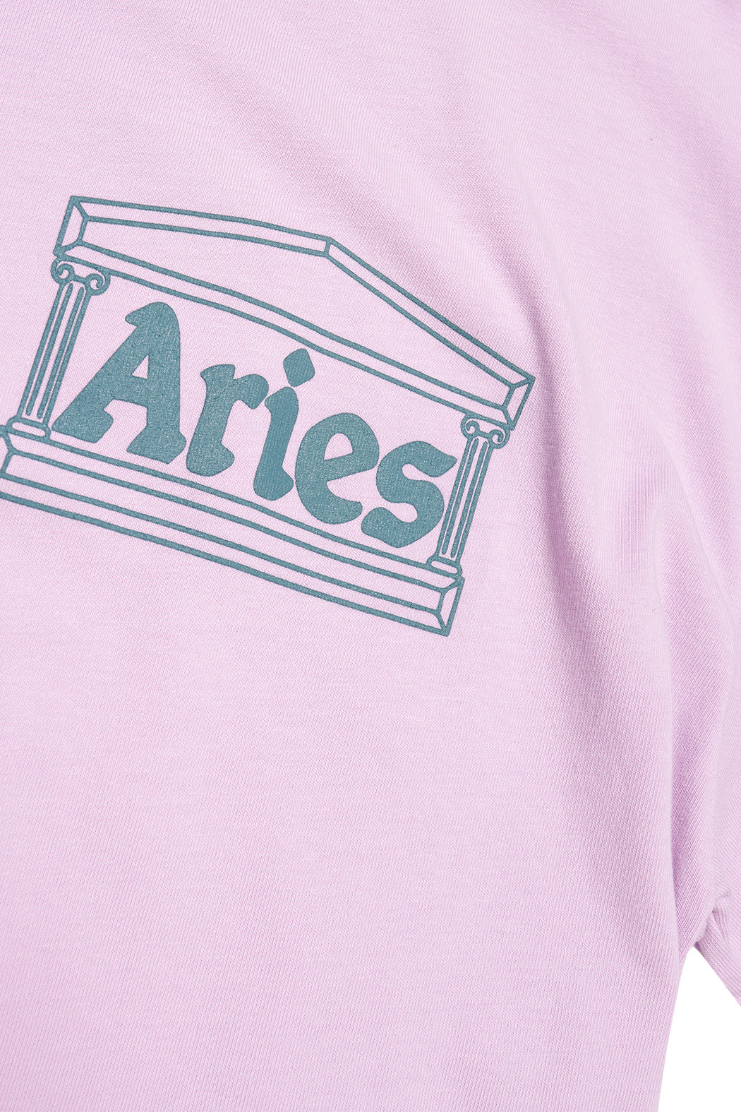 Classic Temple SS Tee - Pink