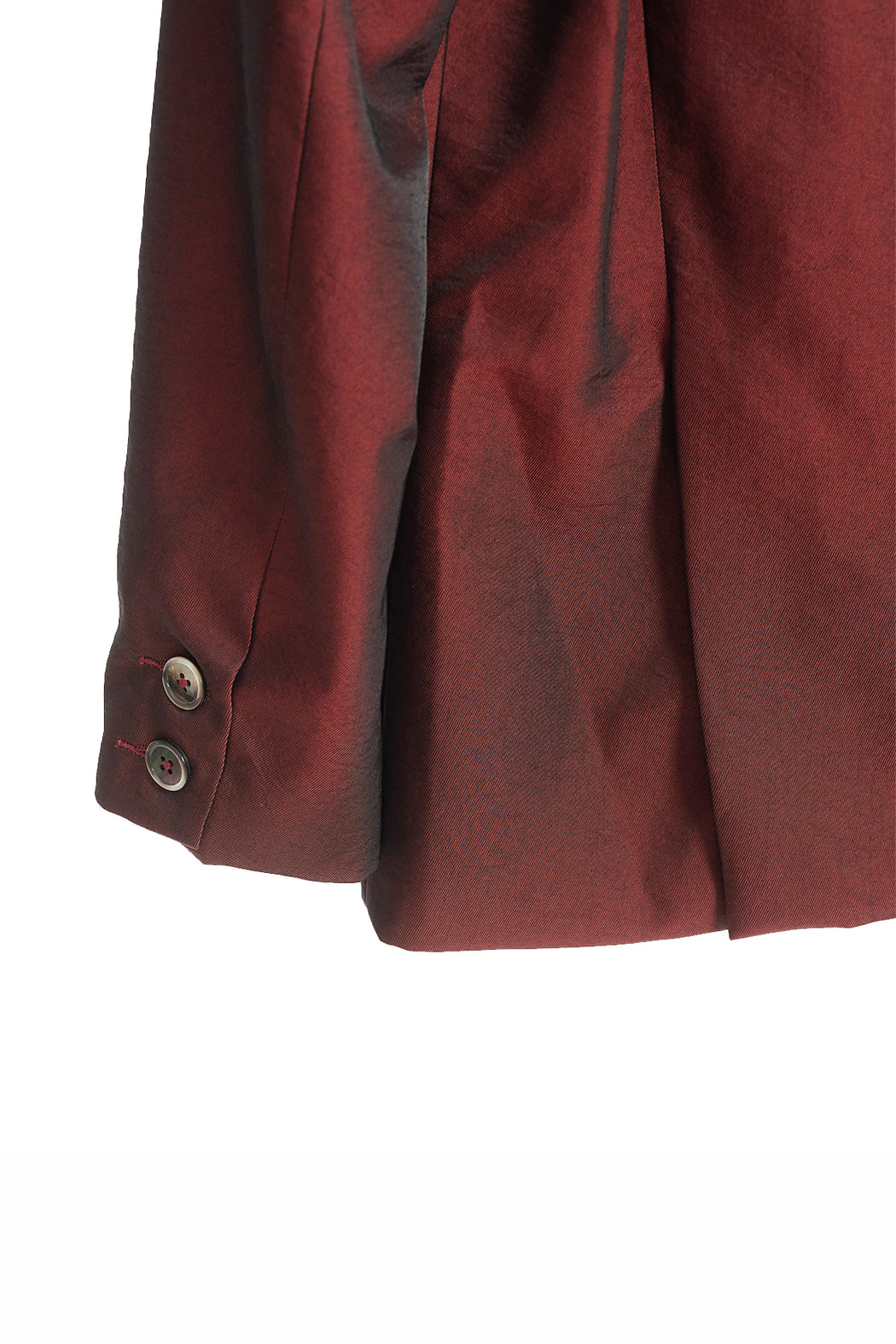 Blazer Jacket - Red/Iridescent