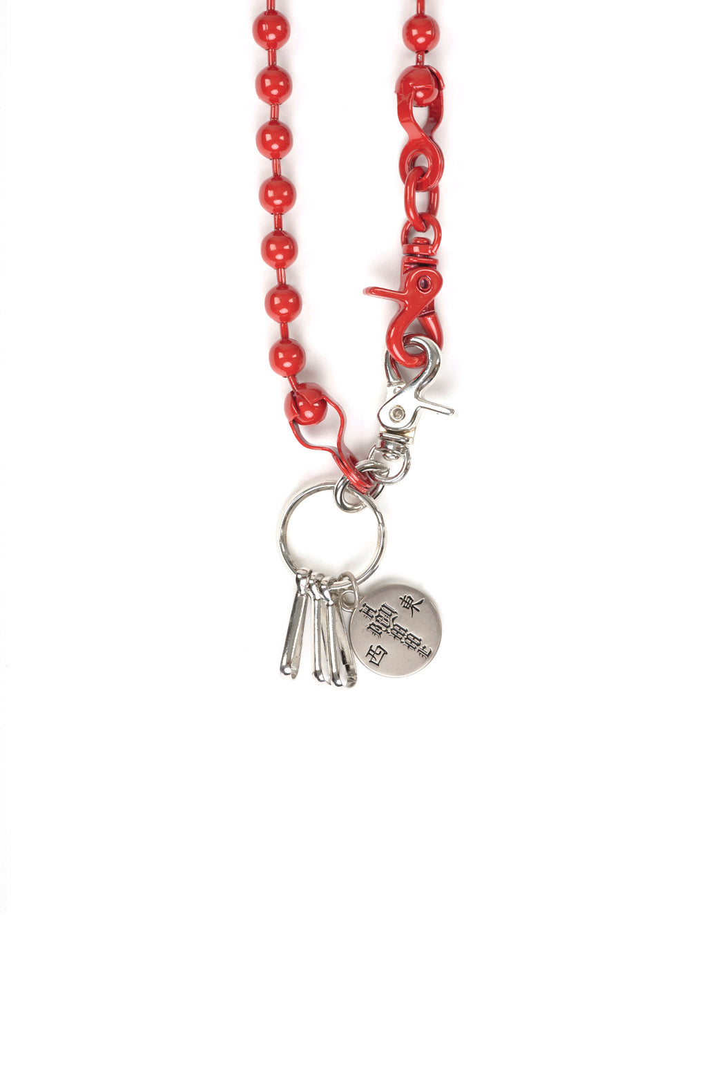 Ball Belt Chain - Red