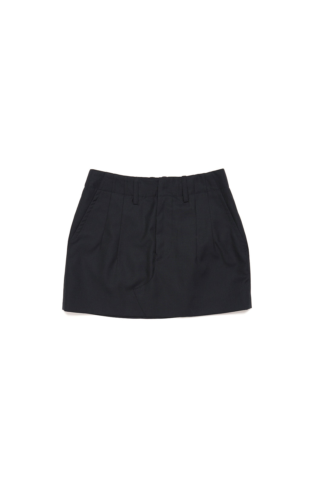 Lowrise Mini Skirt - Navy