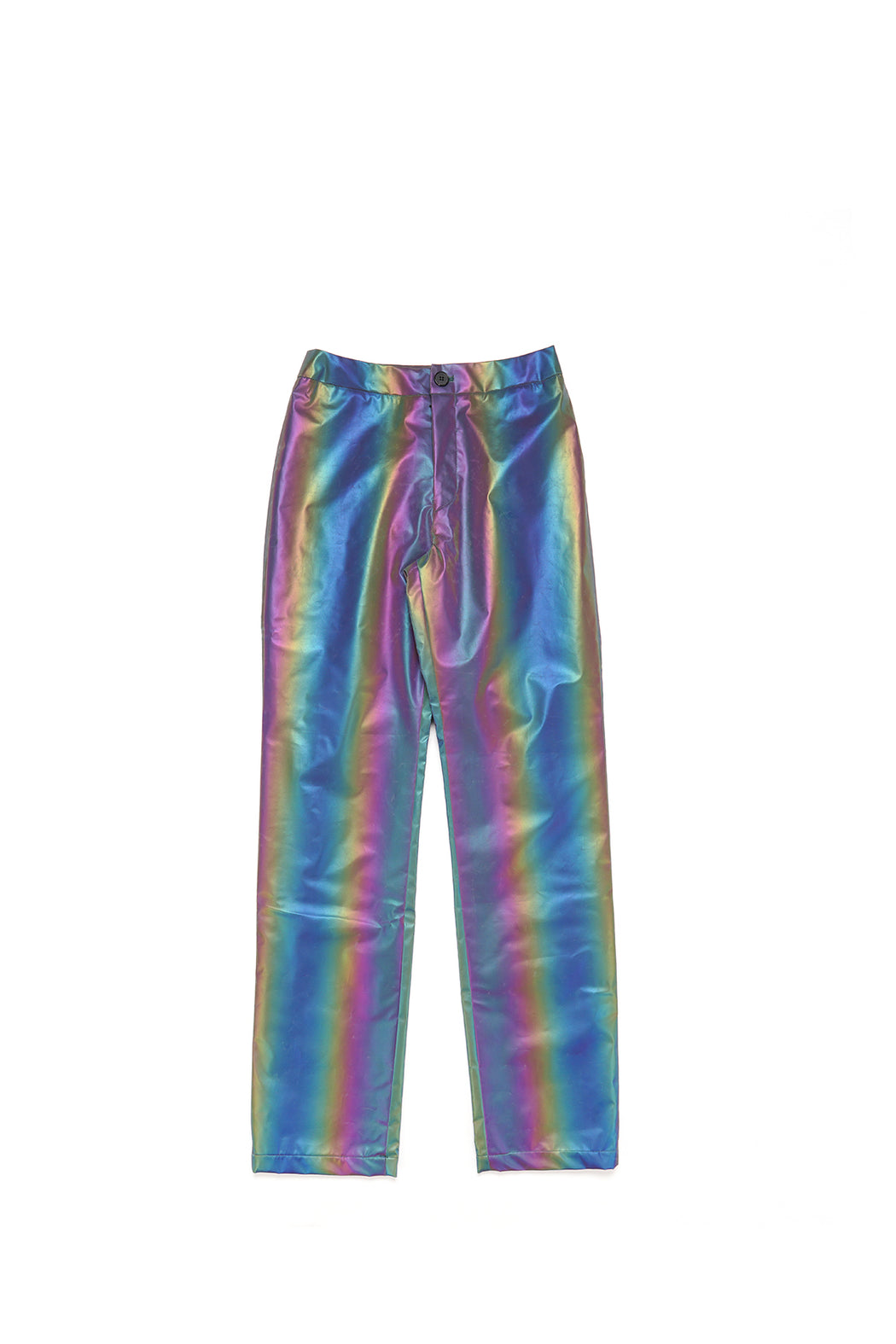 Reflective Straight Leg Pants