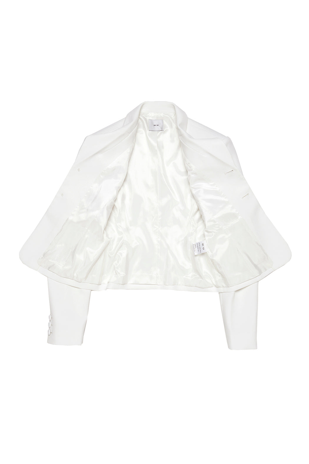 Suiting Blazer - White