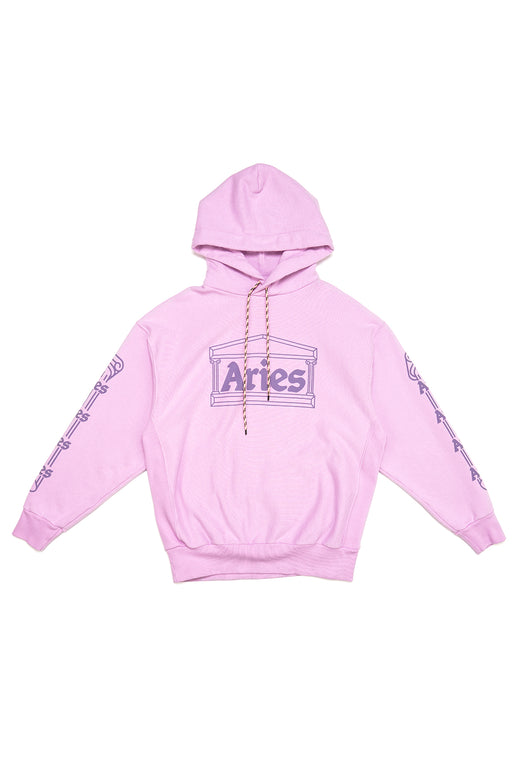 Temple Hoodie - Orchid Pink