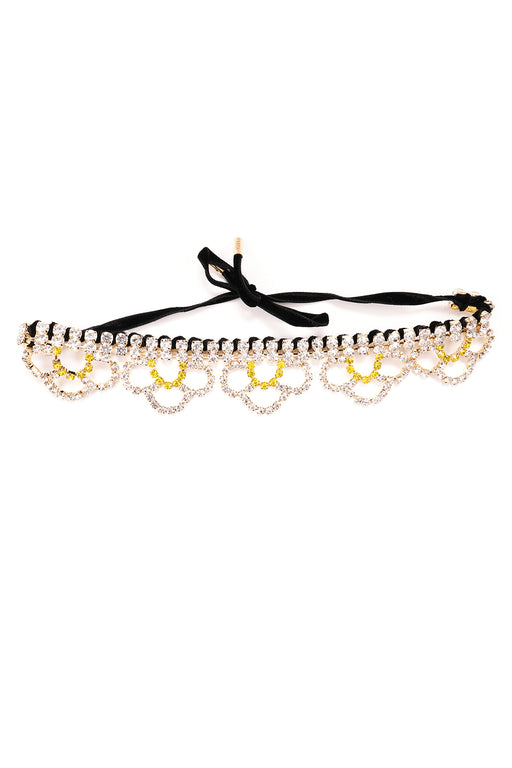 Scalloped Choker - Multi