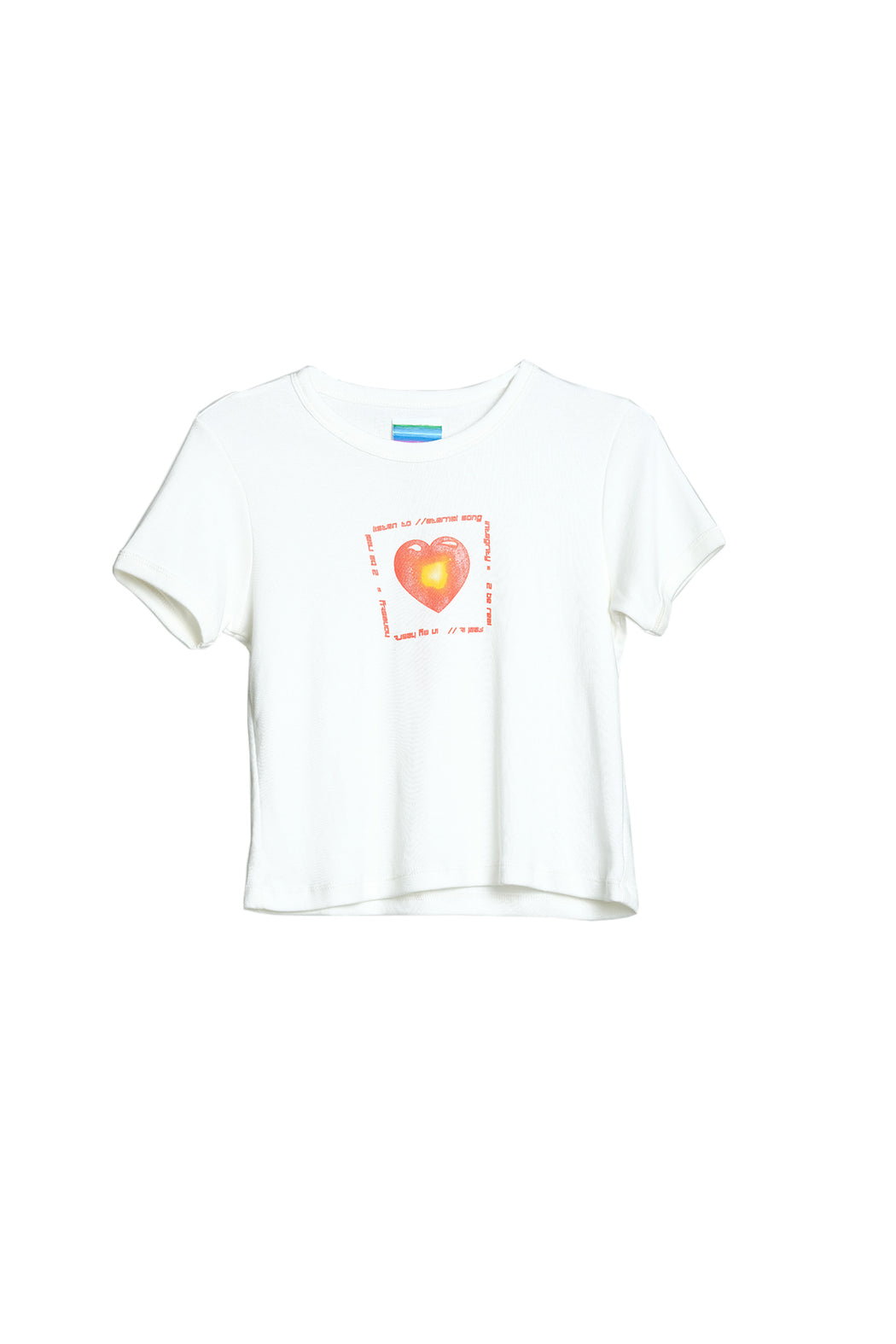 To Be Real Tee - White