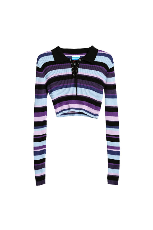 Blink Sweater - Multi Purple