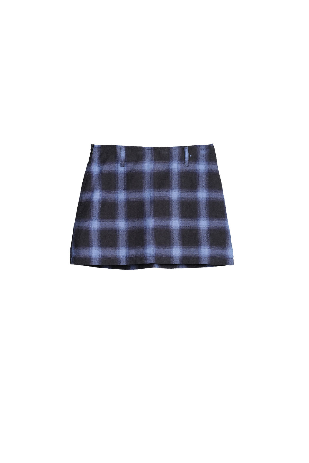 Daria Skirt - Blue Plaid