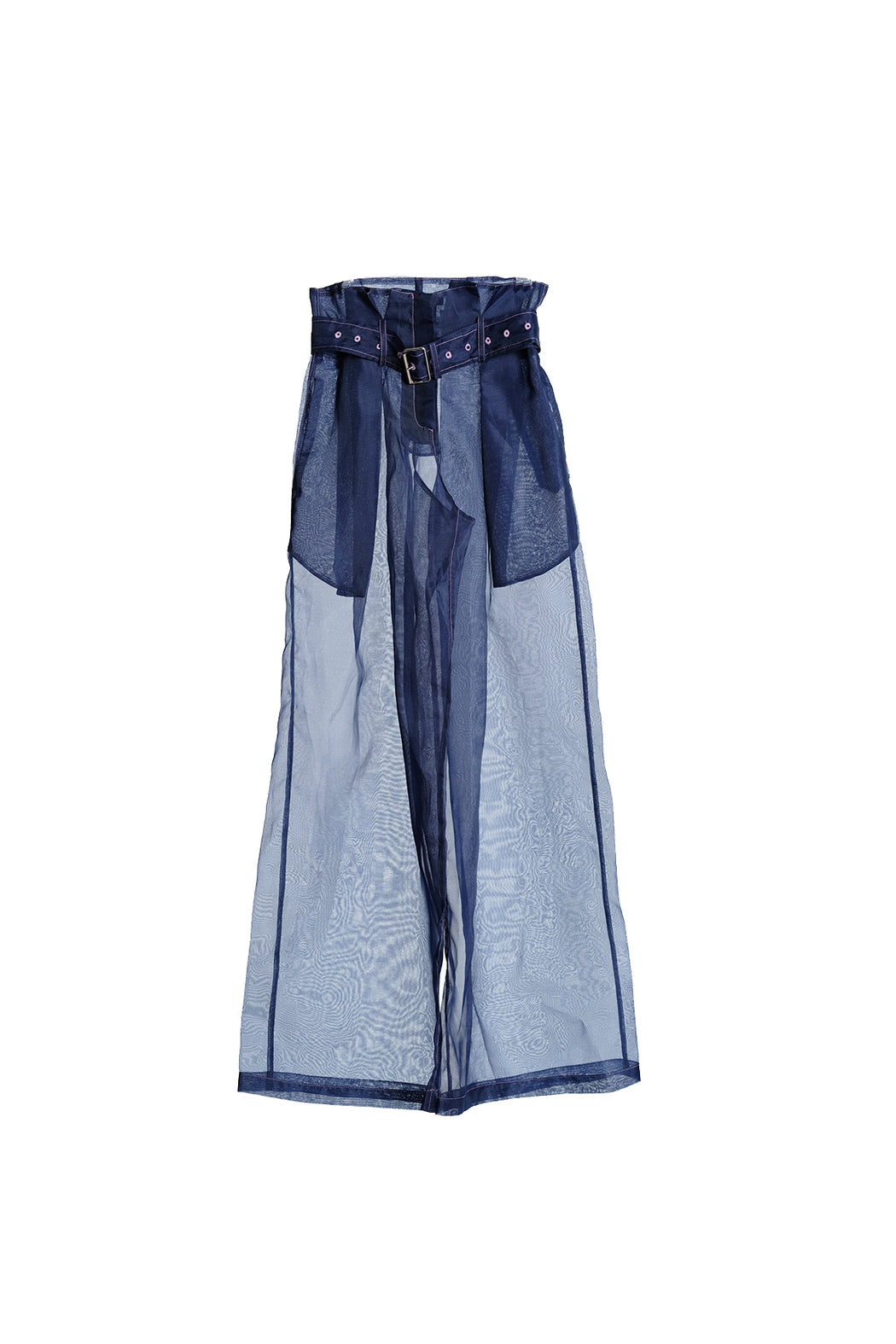 Organza Pants - Navy