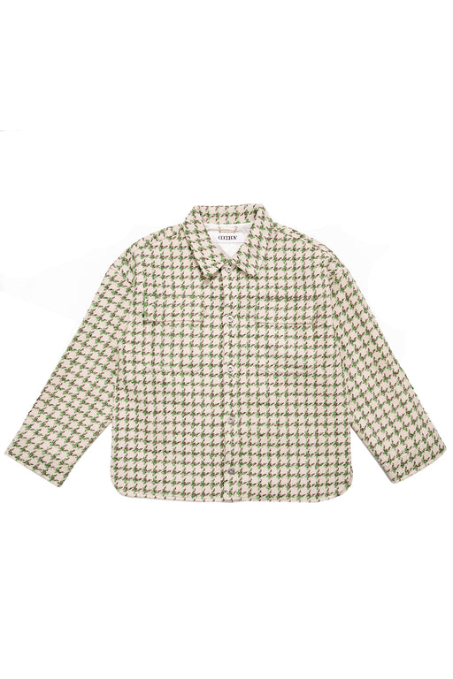 Shepherds Check Jacket - Green/White