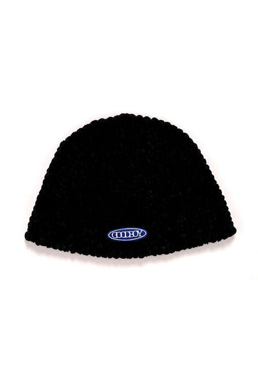Knitted Bucket Cap - Black