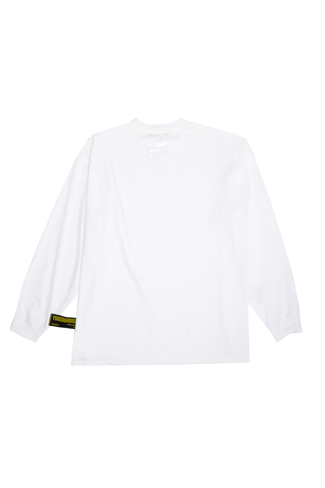 PVC Long Sleeve Tee - White