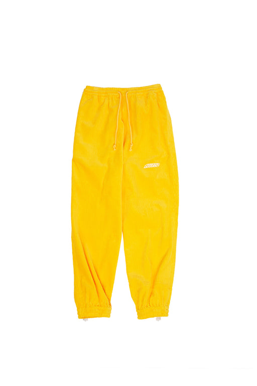Corduroy Lounge Pants - Yellow